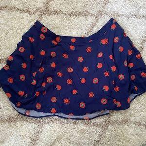 ModCloth plus size tomato skirt
